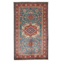 Feizy Rugs Super Kazak 3'10 x 6'6 Area Rug in Green/Red