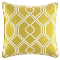 Tommy Bahama® Cuba Cabana Trellis Throw Pillow in Moss