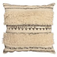 French Connection® Textured Square Throw Pillow