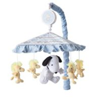 Lambs & Ivy® My Little Snoopy™ Musical Mobile in Blue