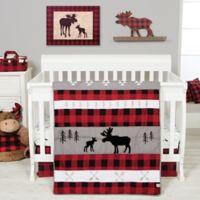 Trend Lab® Lumberjack Moose 3-Piece Crib Bedding Set