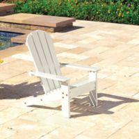 KidKraft® Adirondack Chair in White