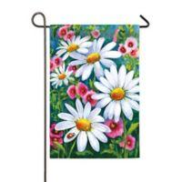Evergreen™ Big Daisies 18-Inch x 12.5-Inch Satin Flag