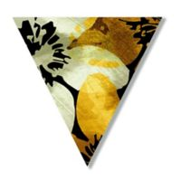 Courtside Market™ Flowers I 18-Inch Triangle Canvas Wall Art