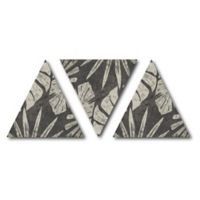 Courtside Market™ Tribal Palms I Canvas Wall Art in Grey (Set of 3)