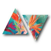 Courtside Market™ Vivid Birds Paradise I Multicolor Canvas Wall Art (Set of 2)