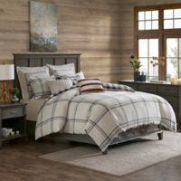 Madison Park Signature Willow Oak Reversible King Comforter Set in Grey