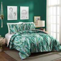 Justina Blakeney Nana Twin XL Comforter Set in Green