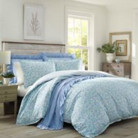 Laura Ashley® Jaynie Wintergreen Full/Queen Duvet Set