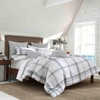 Nautica® Bronwell Twin Duvet Set in Grey