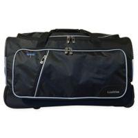 Travolution 23-Inch Wheeled Garment Rack Duffle Bag in Black