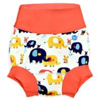 Splash About Size 12-24M Happy Nappy™ Elephant Swim Diaper in Orange