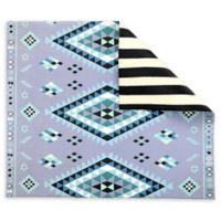 Play with Pieces Reversible Moroccan Rug and Stripe Multicolor Playmat