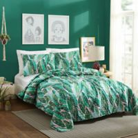 Justina Blakeney Nana Twin XL Quilt Set in Green