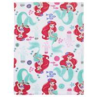 Disney® Ariel Ocean Beauty Blanket in Pink
