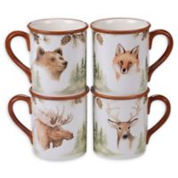 Certified International Mountain Retreat Mugs (Set of 4)