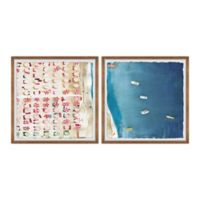 Marmont Hill Packed Beach III 48-Inch x 24-Inch Framed Wall Art Set