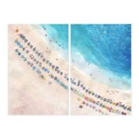 Marmont Hill Perfect Vacation III 16-Inch x 12-Inch Canvas Wall Art Set