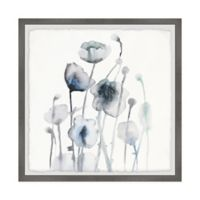 Marmont Hill White Blooms II 18-Inch Squared Framed Wall Art