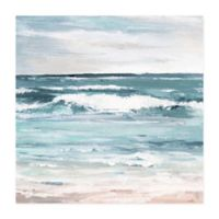 Marmont Hill Free as the Ocean 18-Inch Squared Canvas Wall Art