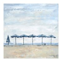 Marmont Hill Sunny Day at the Beach 18-Inch Squared Canvas Wall Art