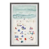 Marmont Hill Beach Time 8-Inch x 12-Inch Framed Wall Art