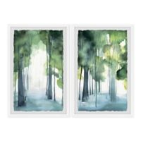 Marmont Hill Through the Haze II 48-Inch x 36-Inch Framed Wall Art Set