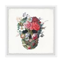 Marmont Hill Flower Face 24-Inch Squared Framed Wall Art