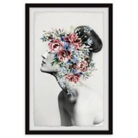 Marmont Hill Floral Thoughts 24-Inch x 36-Inch Framed Wall Art