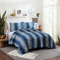 Justina Blakeney Boogie Twin XL Quilt Set in Navy