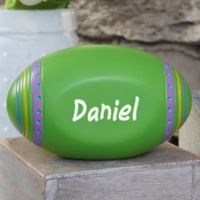 Personalized Easter Egg in Green