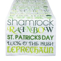 Design Imports St. Patrick's Day 72-Inch Table Runner