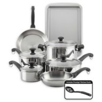 Farberware® Classic Traditions 12-Piece Stainless Steel Cookware Set