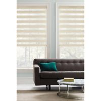 Real Simple® Cordless Layered 61-Inch x 72-Inch Shade in Natural