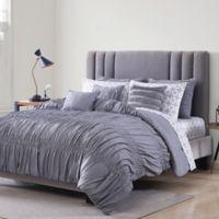 Morgan Home Piper Californai King Comforter Set in Burgundy