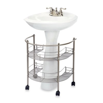 Buy under sink organizer from bed bath beyond - Mueble lavabo pedestal ...