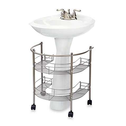 Bed Bath And Beyond Pedestal Sink Organizer