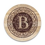 Monogram Letter  B  Coasters (Set of 4)