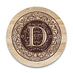 "Monogram Letter ""D"" Coasters (Set of 4)"