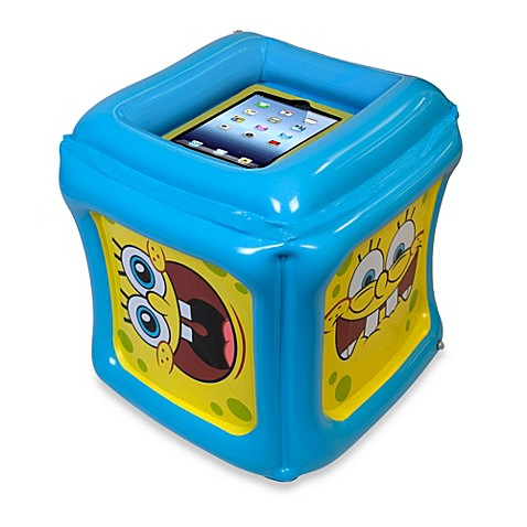 Cta Digital Spongebob Squarepants Inflatable Play Cube For