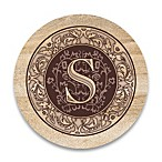 "Monogram Letter ""S"" Coasters (Set of 4)"