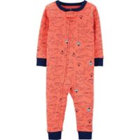 carter's® Size 18M Shark Pajamas in Orange
