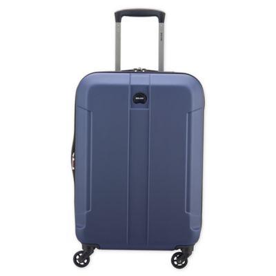 9c3ba516ee35 DELSEY PARIS Depart 2.0 22-Inch Hardside Spinner Carry On Luggage in Blue
