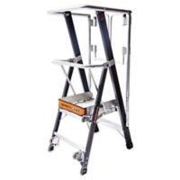 Little Giant® Safety Cage™ 2-Step Ladder