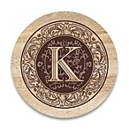 "Monogram Letter ""K"" Coasters (Set of 4)"