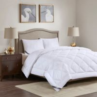 Madison Park 525-Thread-Count Cotton Rich King Comforter in White