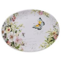 Certified International Spring Meadows 16-Inch Oval Platter