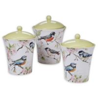 Certified International Spring Meadows 3-Piece Canister Set