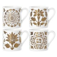 Lenox® Global Tapestry Gold™ Mugs (Set of 4)