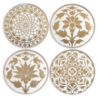 Lenox® Global Tapestry Gold™ Tidbit Plates (Set of 4)